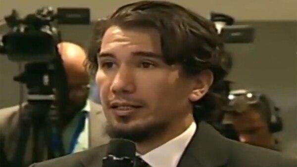 Esteban Rojas, periodista de AFP