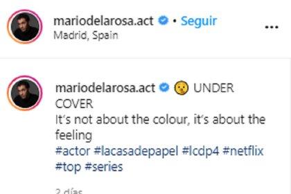 (Foto: Instagram Mario de la Rosa @mariodelarosa.act)