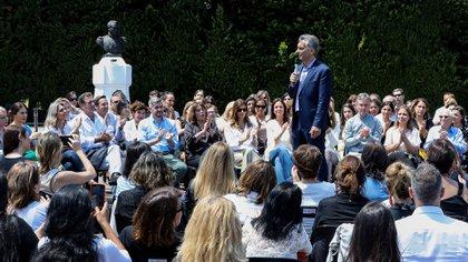 """Mauricio Macri destacó la """"revolución de las mujeres"""" y resaltó que salga a la luz """"la verdad"""", con relación a las denuncias por violencia de género"""