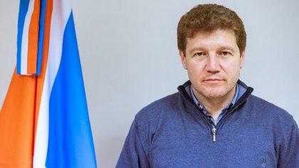 El gobernador de Tierra del Fuego, Gustavo Melella