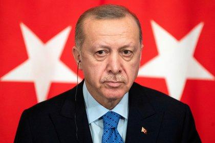 Tayyip Erdogan. Pavel Golovkin/Pool via REUTERS/File Photo