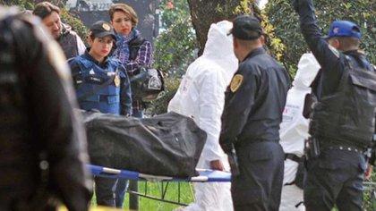 Menor encontrada en una maleta en Tlatelolco (Foto: especial)