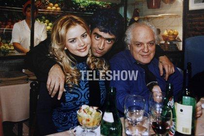 Pepe Parada estaba comiendo con Karina Jelinek y Fernando Olmedo (Sergio Lapietra/Teleshow)