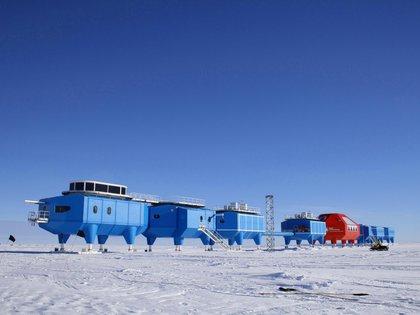 La Estación de Investigación Halley VI es una plataforma de importancia internacional para la observación del tiempo atmosférico y espacial   (Foto: Reuters)