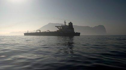 El buque estuvo retenido más de un mes en Gibraltar (AFP)