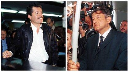Colosio y AMLO se reunieron en dos ocasiones en 1994 (Fotos: Cuartoscuro)