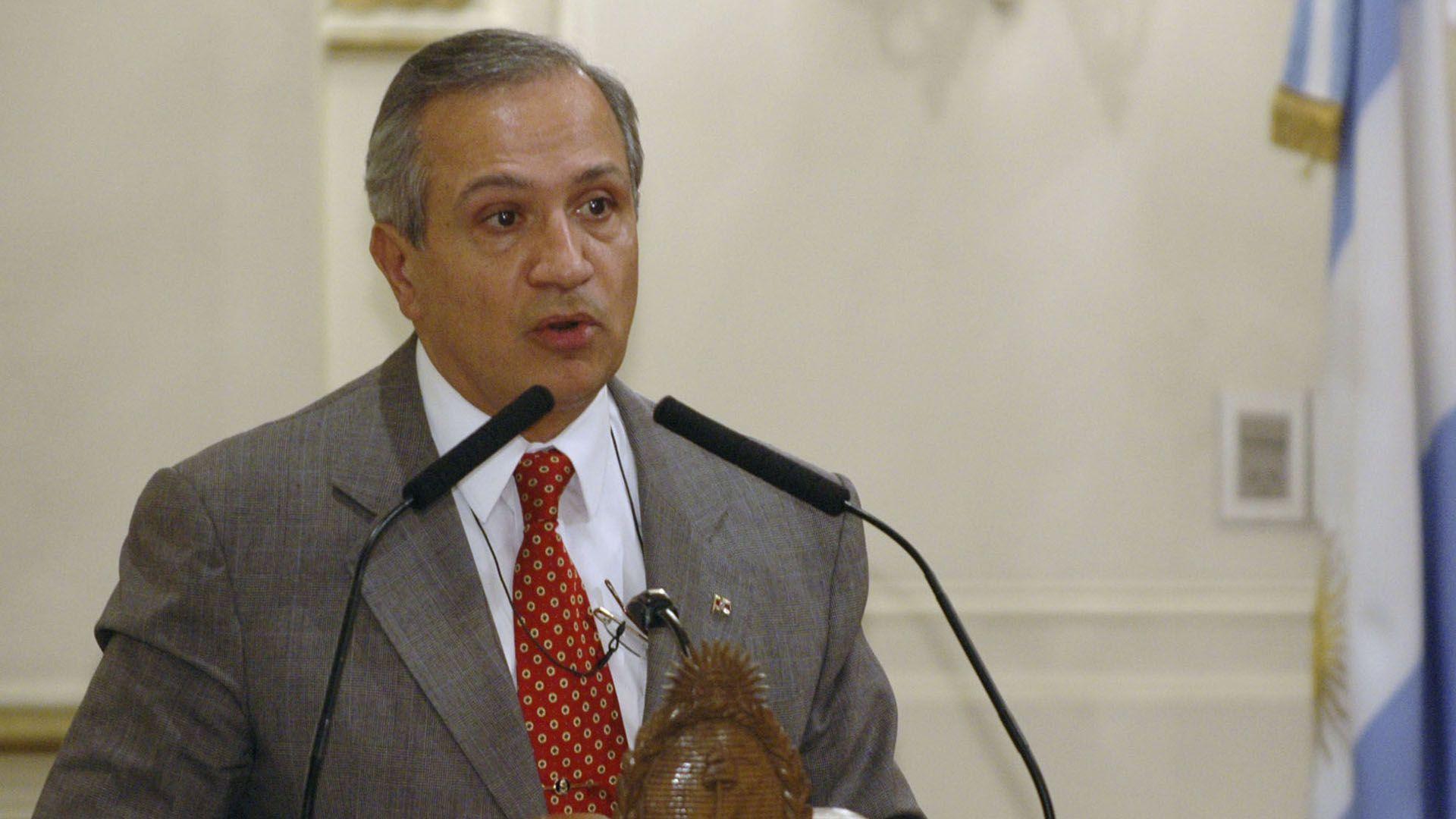 El senador por Santa Juan Carlos Romero del PJ (NA)
