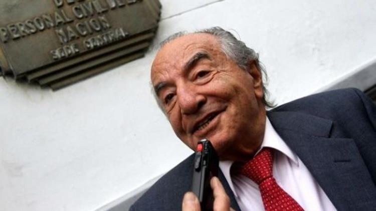 Armando Cavalieri, secretario general del sindicato de Comercio