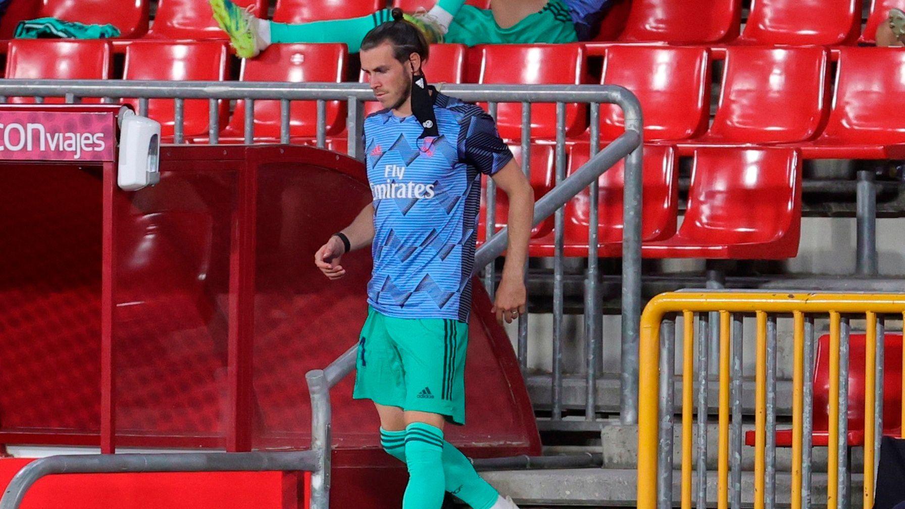 Real Madrid busca encontrarle una salida a Gareth Bale (EFE/JuanJo Mart)
