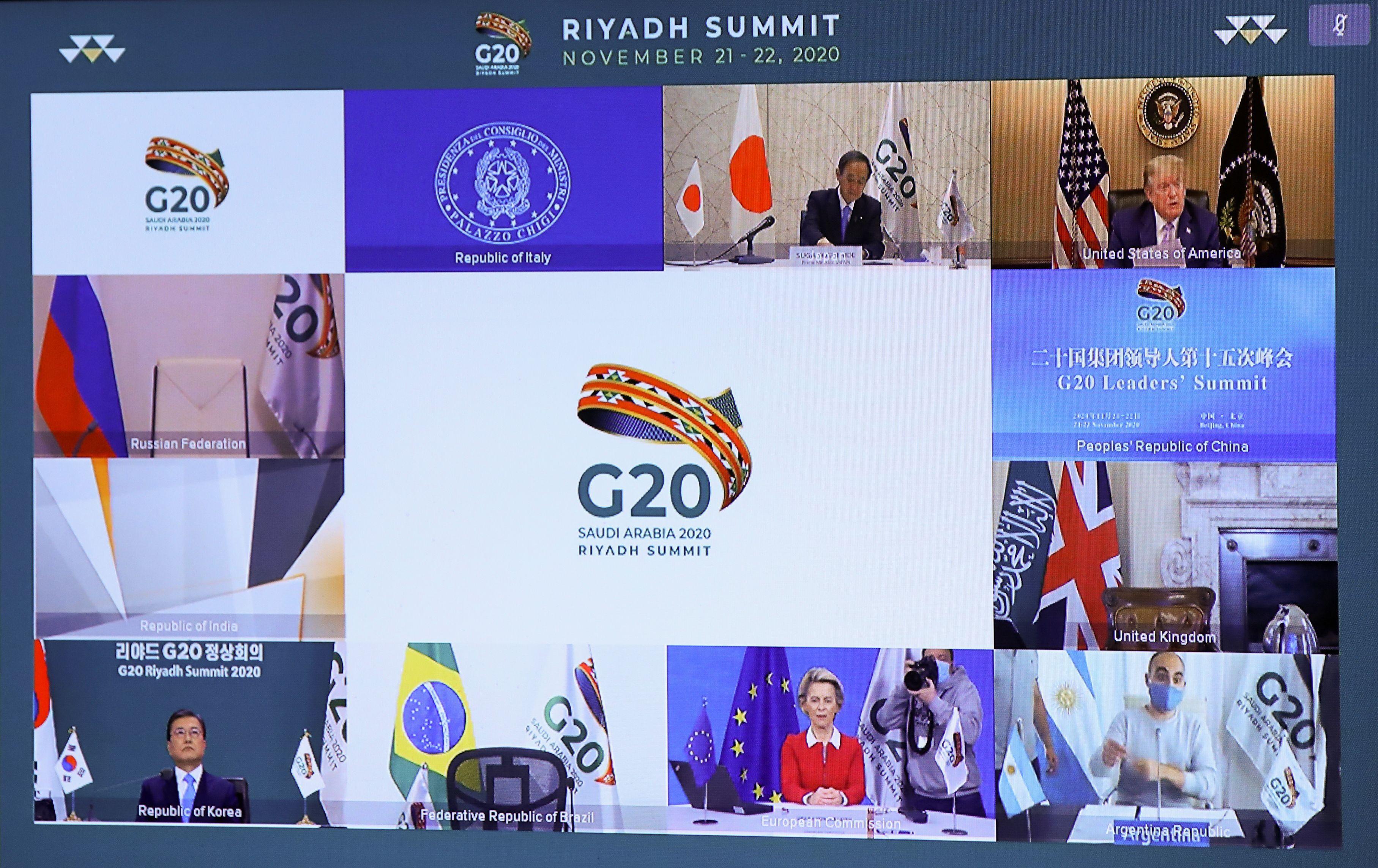 Las conferencias virtuales de la Cumbre (Reuters)