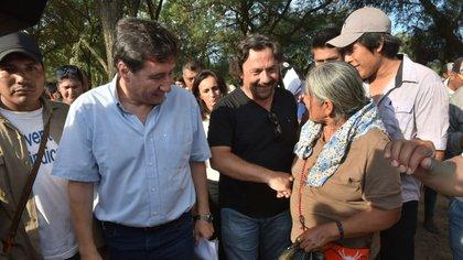 Arroyo y Sáenz recorrieron el norte salteño