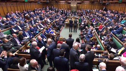 La Cámara de los Comunes (AFP)