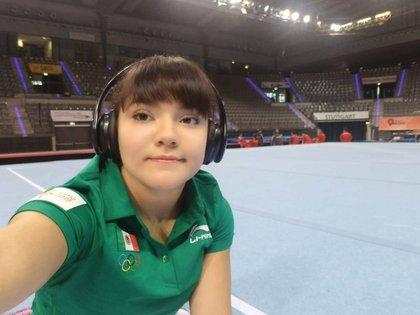 Alexa Moreno aseguró su participación en Tokio 2020 (Foto: Twitter CONADE)