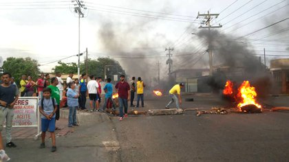 Protestas en Maracaibo (@VPITV)