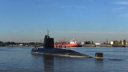 El submarino ARA San Juan (AFP)