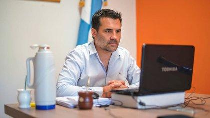 El secretario de energía, Darío Martínez