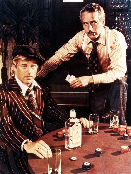 Robert Redford y Paul Newman en