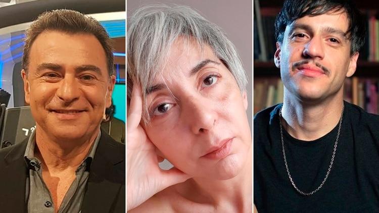 Reynaldo Sietecase, Miriam Molero y Enzo Maqueira