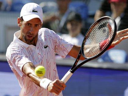 Novak Djokovic. EFE/EPA/ANDREJ CUKIC/Archivo