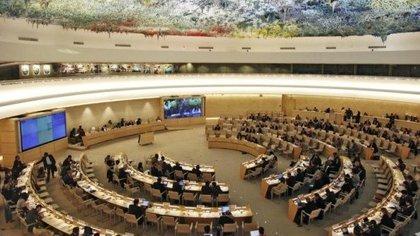 El Consejo de Derechos Humanos de la Organización de las Naciones Unidas (ONU) en Ginebra (Europa Press)