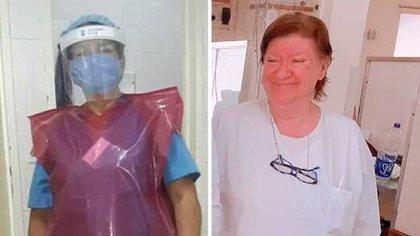 Elena Rojas tenía 62 años y dos hijos. Ya jubilada, ante la pandemia del COVID-19, decidió trabajar igual. Falleció el 28 de abril.