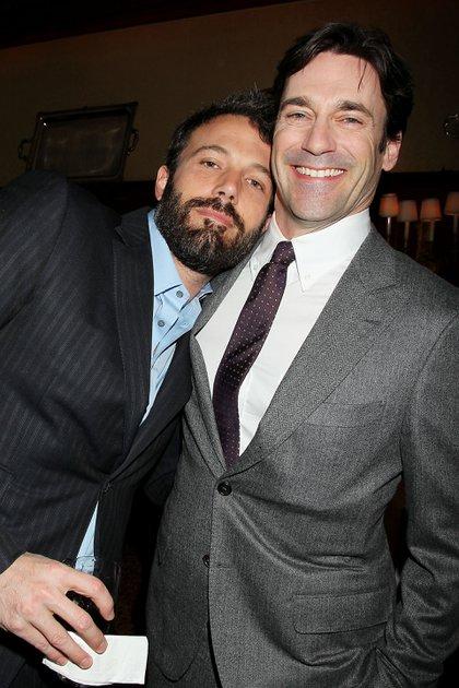 Jon Hamm y Ben Affleck