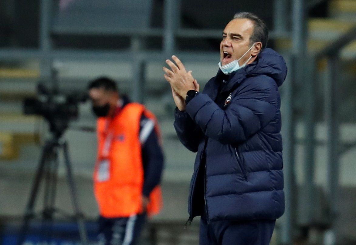 El entrenador de la selección de Chile, Martin Lasarte (EFE)