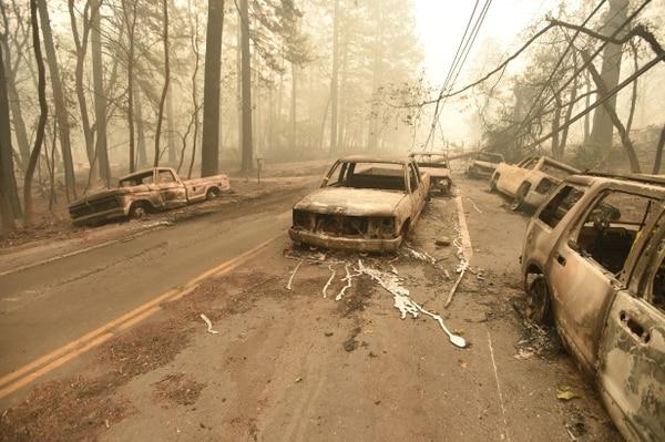 Estos incendios fueron considerados los peores en la historia del estado de la costa oeste (Foto deEdelson / AFP)