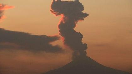 Actividad volcánica en el Popocatépetl: exhalaciones y emisiones de ceniza en las últimas 24 horas