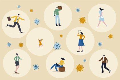 La gente experimenta un mayor grado de preocupación, más incertidumbre y más ansiedad de lo que señalaba a los diez días del aislamiento social obligatorio (Shutterstock)