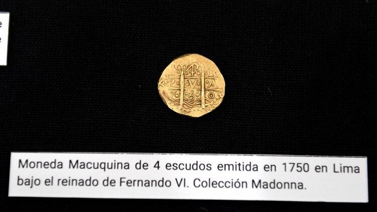 Alrededor de setenta monedas y otros artefactos recuperados de barcos hundidos conforman, según los organizadores, la primera muestra sudamericana de objetos naufragados