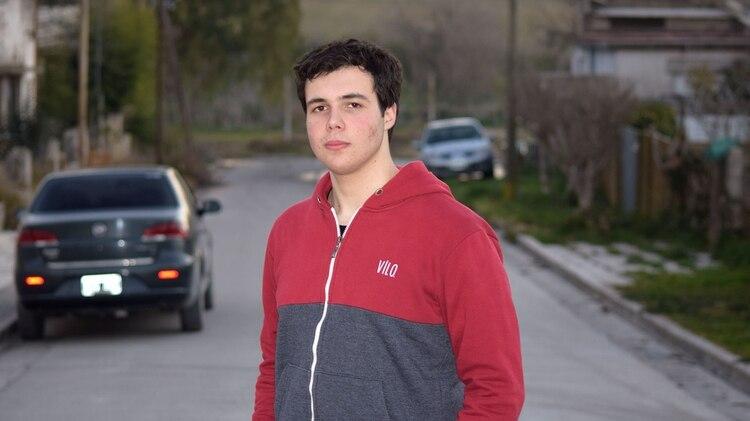 El creador de Ayumapp vive en Sierras Bayas, un pueblo de 7.000 habitantes en el partido de Olavarría (Tadeo Donegana)