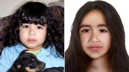 Así sería ahora Sofía Herrera, a 12 años de su desaparición