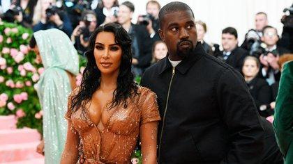 Kim Kardashian y Kanye West, juntos en Nueva York. Clint Spaulding/Shutterstock (10227716ln)
