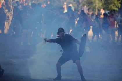 Protestas en Chile (REUTERS/Andres Martinez Casares)