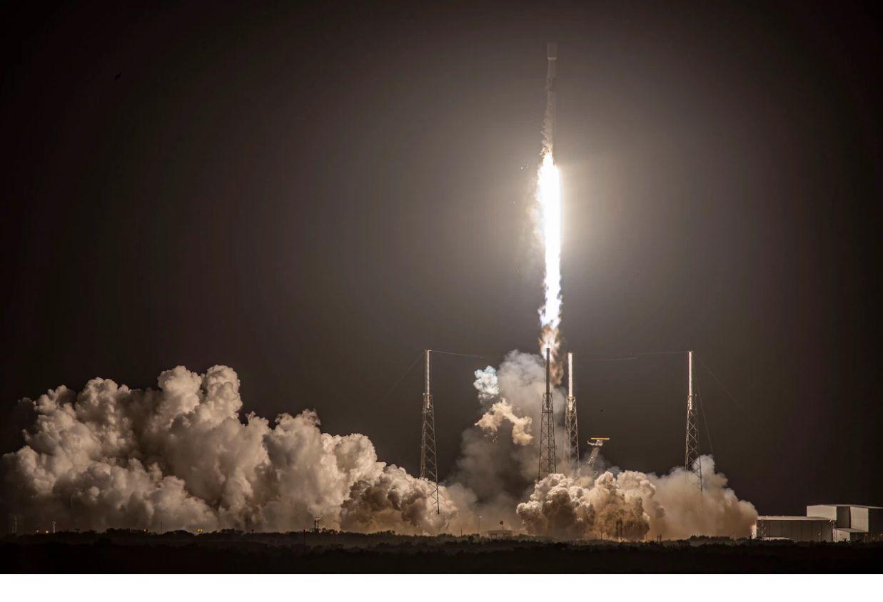 Se lanzaron 60 nuevos satélites de Starlink (SpaceX)