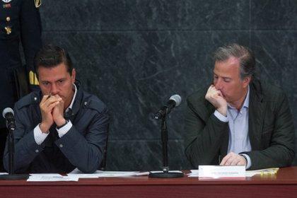 Peña Nieto y Meade Kuribeña, los señalados por la defensa de Robles Berlanga (Foto: Moisés Pablo/ Cuartoscuro)