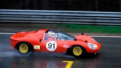 Una Ferrari Dino 206 SP de 1965.