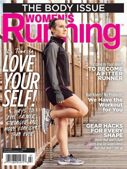 Amelia Gapin fue portada de la revista Women's Running