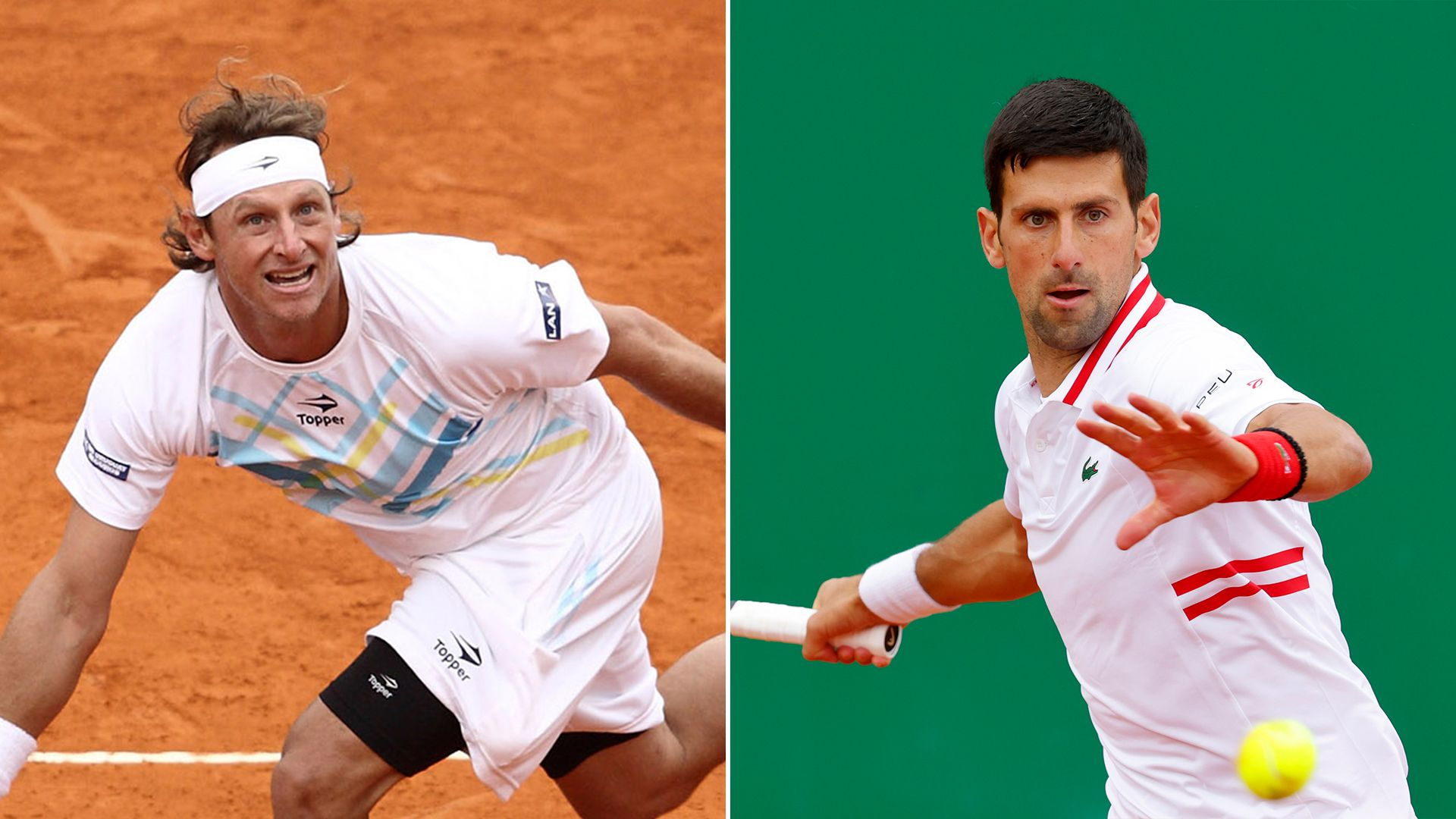 Novak Djokovic y David Nalbandian