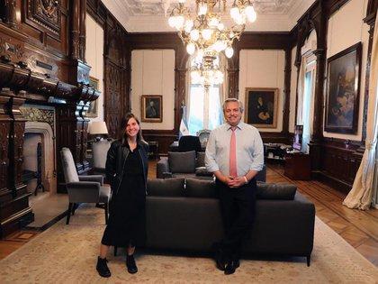 El 22 de septiembre pasado la titular de la Anses, Fernanda Raverta, y el presidente Alberto Fernández discutieron la posibilidad de un IFE 4 o su reemplazo por otro programa