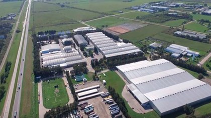 Imagen de la planta de la empresa en Gualeguaychú (Foto: camptura de Youtube, Big Empanada)