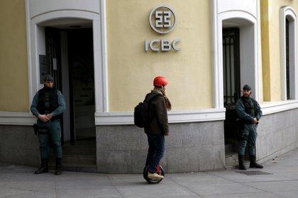 La sede del ICBC en Madrid, España (REUTERS/Juan Medina/Archivo)