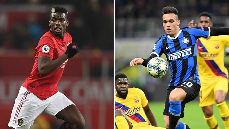 Paul Pogba busca salir del Manchester United y el Inter mostró interés en contratarlo