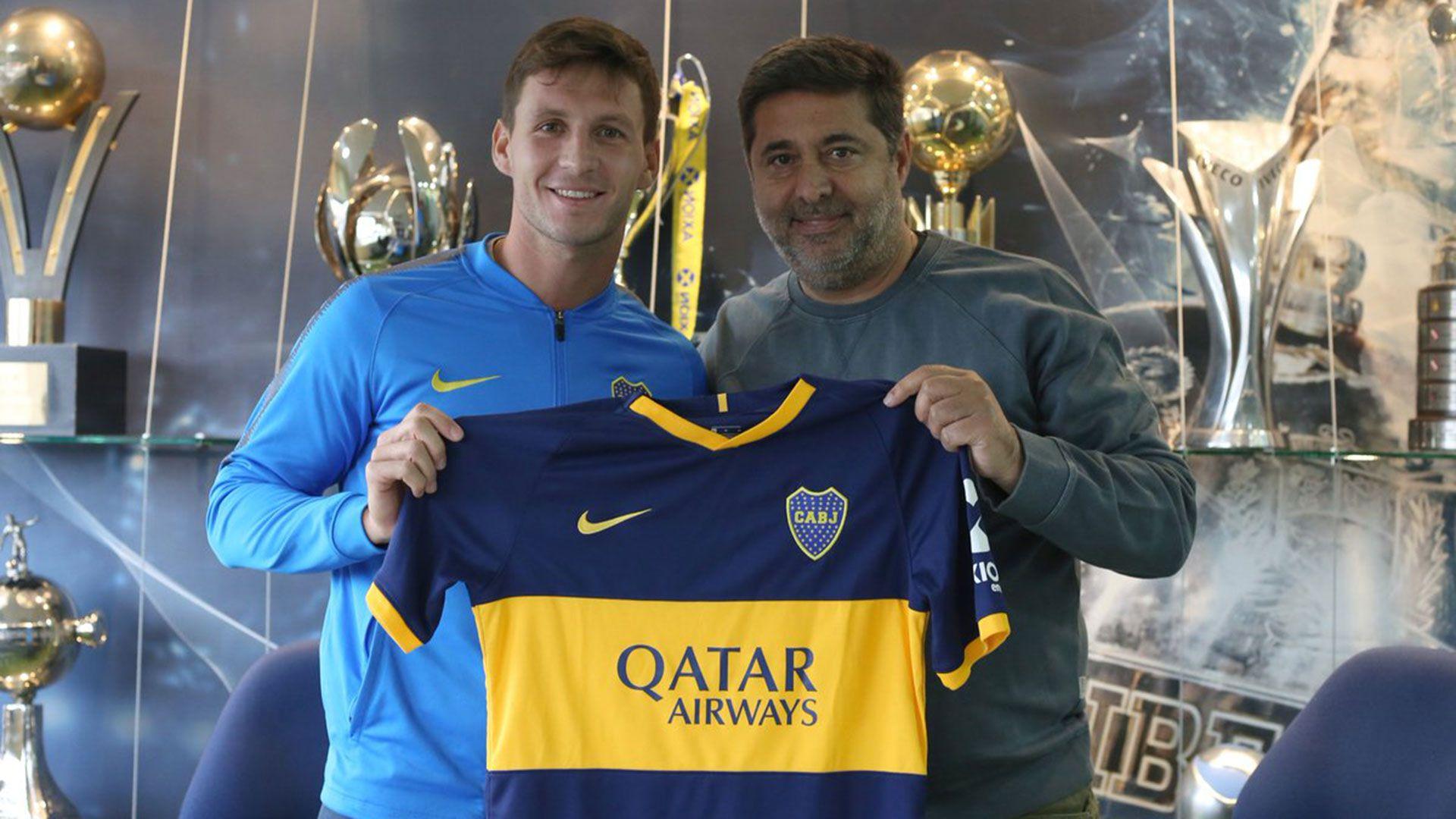 Franco Soldano se transformó en el quinto refuerzo de Boca (@BocaJrsOficial)