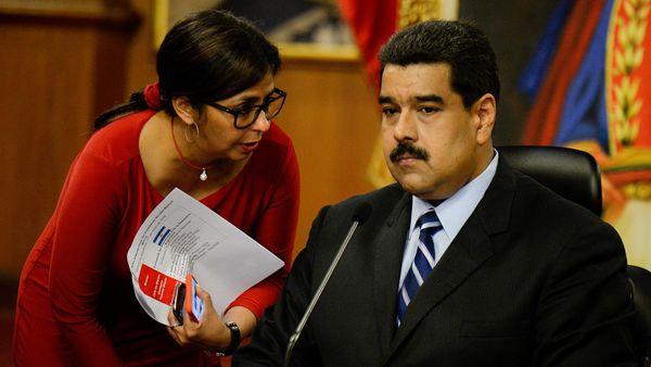 Delcy Rodríguez, ex canciller, será una de las candidatas a la Constituyente de Maduro (AFP)