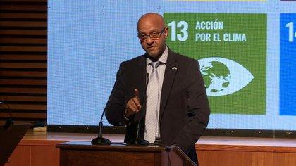 Roberto Valent, representante de la ONU en Argentina