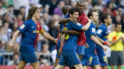 Lionel Messi fue la gran figura del Barcelona en aquel 6-2 ante el Madrid (Shutterstock)