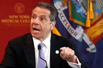 El gobernador del estado de Nueva York, Andrew Cuomo. Foto: REUTERS/Mike Segar