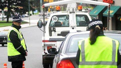 Las grúas seguirán trabajando con una guardia mínima para evitar bloqueos de rampas